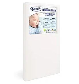 Graco Premium Foam Crib Mattress & Toddler Mattress – 2021