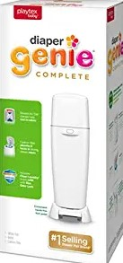 Playtex Diaper Genie Complete Pailwith Built-In Odor Controlling Antimicrobial