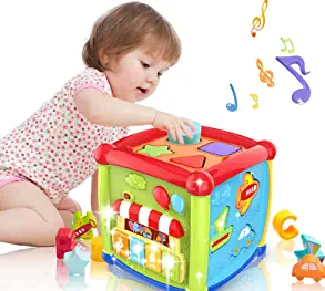 LAGERFEY Early Learning Shape Sorter Baby Toys