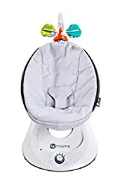 4moms rockaRoo Baby Swing, Compact Baby Rocker with Front to Back Gliding Motion