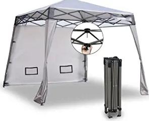 EzyFast Elegant Pop Up Beach Shelter, Compact Instant Canopy