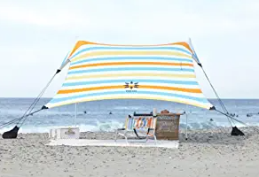 Neso Tents Beach Tent with Sand Anchor, Portable Canopy