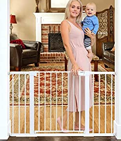 Number 51.6-Inch Baby Gate Extra Wide