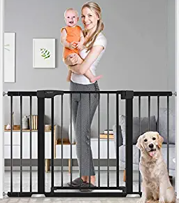 """Baby Gate for Doorways and Stairs, RONBEI 51.5"""""""