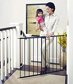 """Toddler by the North States 47.85"""" Wide Easy Swing & Lock Baby Gate"""