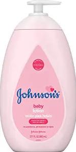Johnson's Moisturizing Pink Baby Lotion