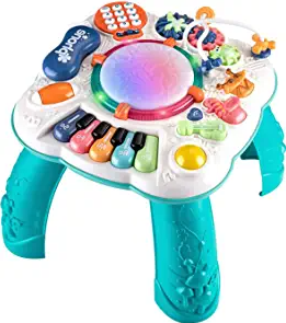 THISMY Learn and Groove Musical Table for Baby Toys