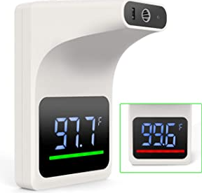 GEKKA Wall Mounted Infrared Forehead Thermometer